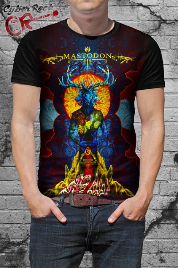 Camiseta Mastodon Blood Mountain
