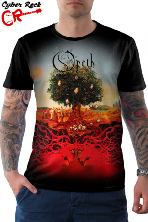 Camiseta Opeth Heritage