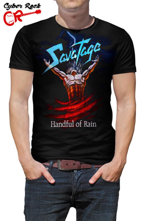Camiseta Savatage Handful of Rain