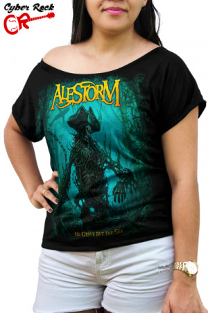 Blusinha Alestorm No Grave But The Sea