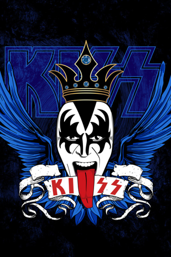 Camiseta-Kiss-c-king