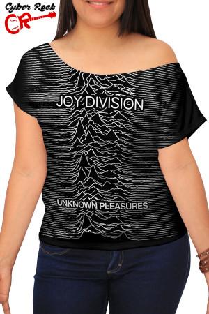 Blusinha Joy Division Unknown Pleasures