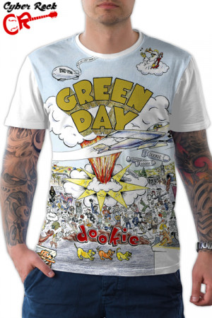 Camiseta Green Day Dookie Branca