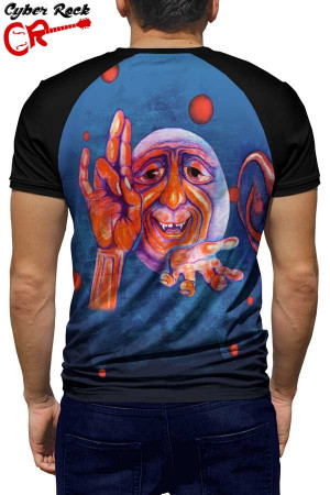 Raglan manga curta King Crimson