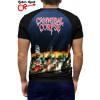 Camiseta Raglan Cannibal Corpse manga curta