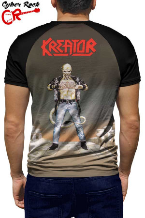 Camiseta Raglan Kreator Terrible Certainty tz