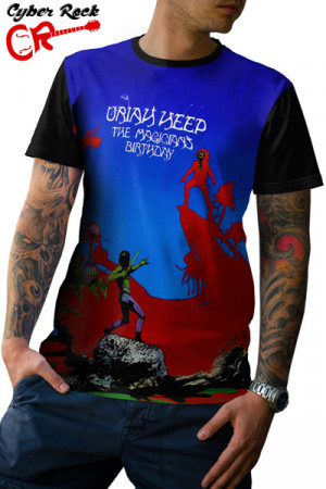 Camiseta Uriah Heep Magician's Birthday
