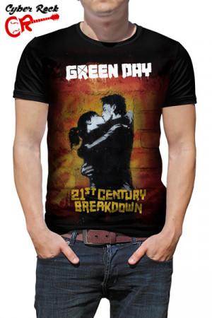 Camiseta Green Day 21 Century Breakdown