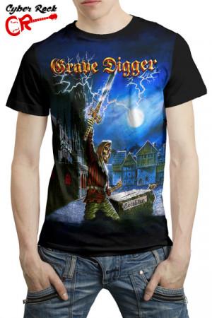 Camiseta Grave Digger Excalibur