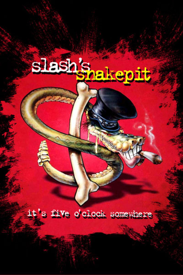 Blusinha Slashs Snakepit Its Five Oclock Somewhere