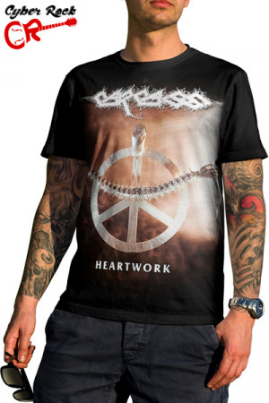 Camiseta Carcass Heartwork