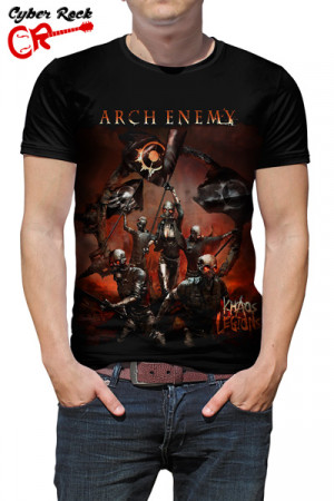 Camiseta Arch Enemy Khaos Legions
