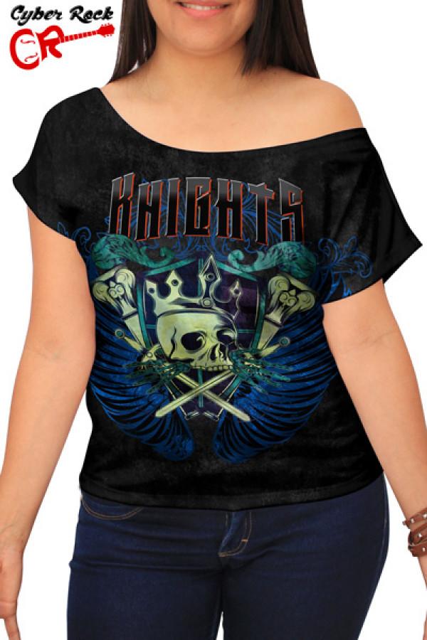 Blusinha Skull Knights
