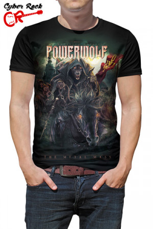 Camiseta Powerwolf The Metal Mass