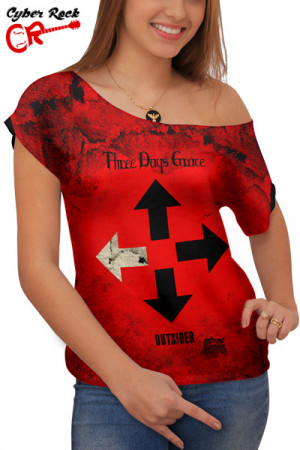 Blusinha Three Days Grace Outsider