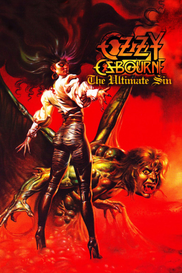 Camiseta Ozzy Osbourne - The Ultimate Sin Rar