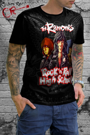 Camiseta Ramones Rock n' Roll