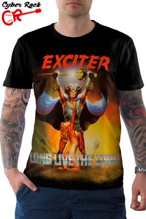 Camiseta Exciter Long Live the Loud