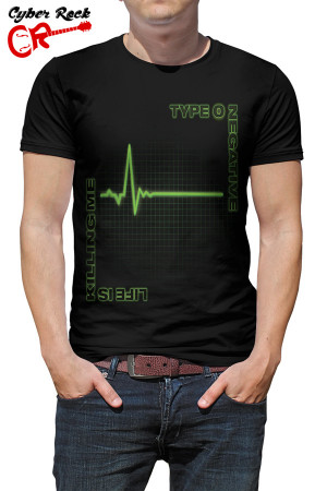 Camiseta Type O Negative Life is Killing Me