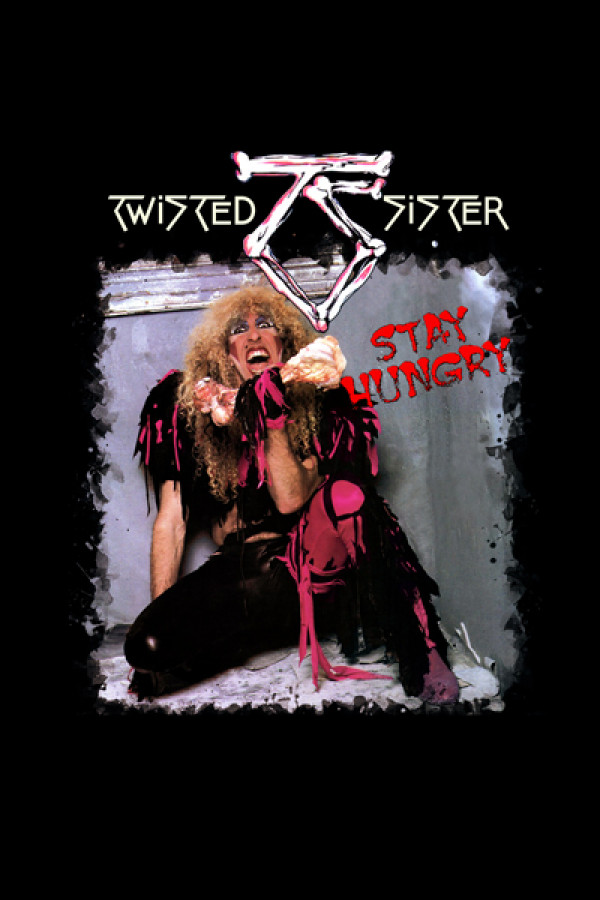 Camiseta Twisted Sister - Stay Hungry
