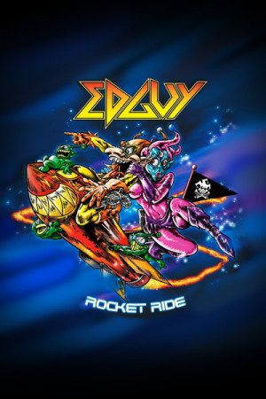 Camiseta Edguy Rocket Ride