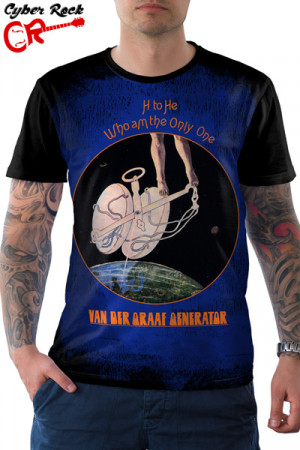 Camiseta Van Der Graaf Generator H to He Who Am the Only One