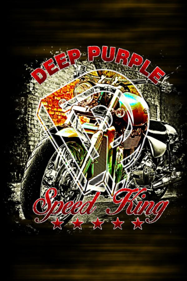 Blusinha Deep Purple Speed King