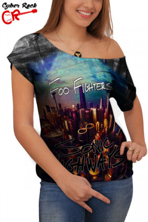 Blusinha Foo Fighters Sonic Highways