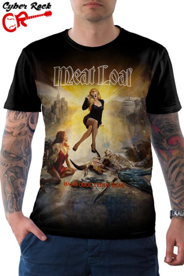 Camiseta Meat Loaf Hang Cool Teddy Bear