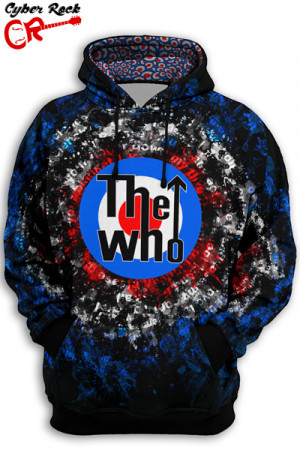 Blusa Moletom The Who Logo