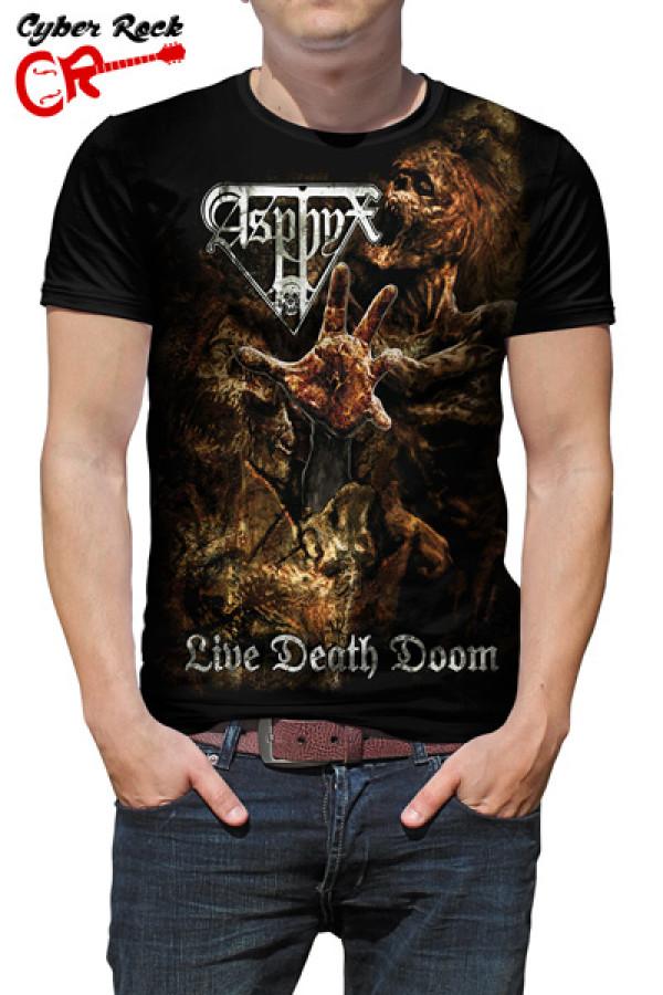 Camiseta Asphyx Live Death Doom