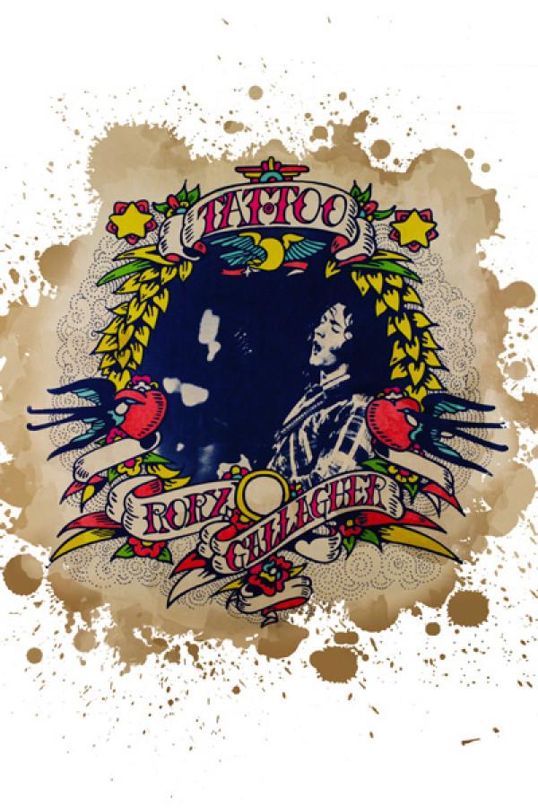Capa Almofada Rory Gallagher tatoo