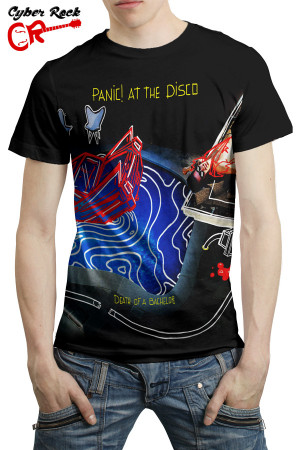 Camiseta Panic At the Disco Death of a Bachelor