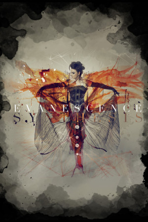 Camiseta Evanescence Synthesys