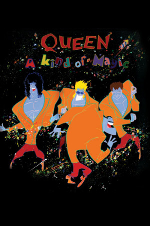 Camiseta Queen A Kind of Magic