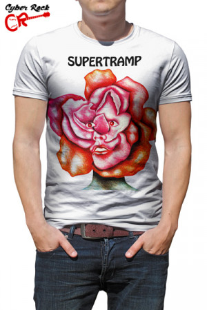Camiseta Supertramp Branca