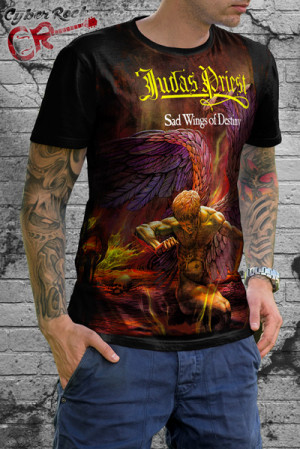 Camiseta Judas Priest Sad Wings