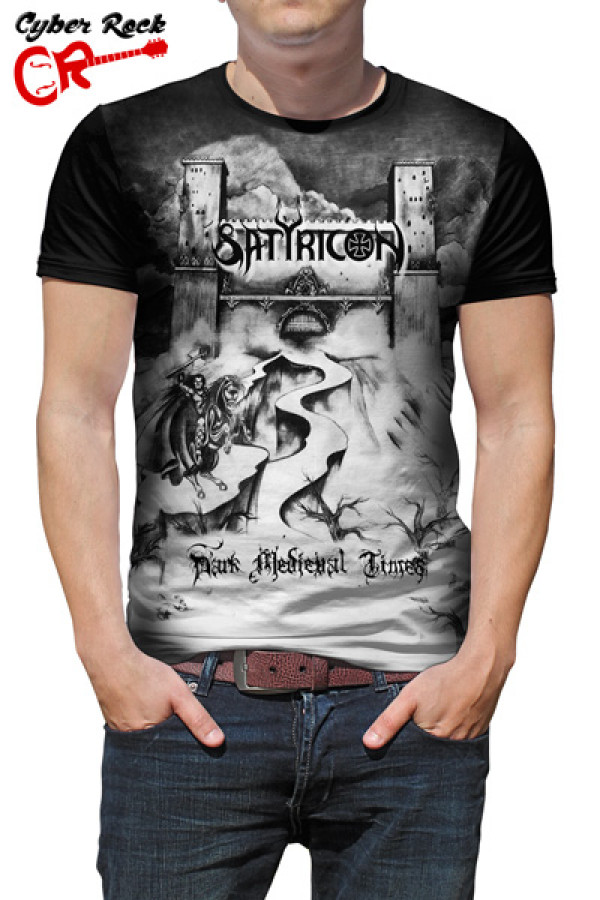 Camiseta Satyricon - Dark Medieval Times