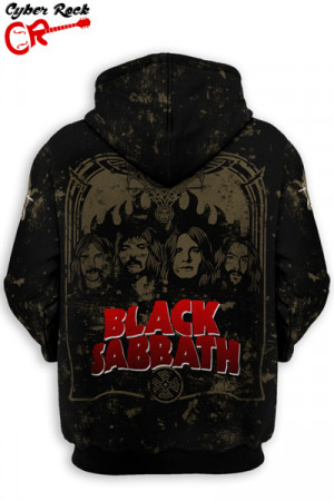 Blusa Moletom Black Sabbath 1970