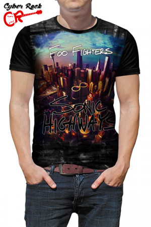 Camiseta Foo Fighters Sonic Highways
