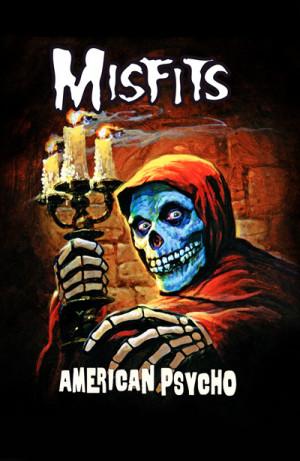 Camiseta Misfits American Psycho