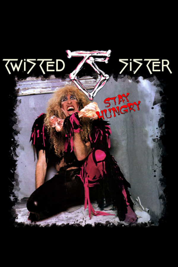 Blusinha Twisted Sister - stay hungry