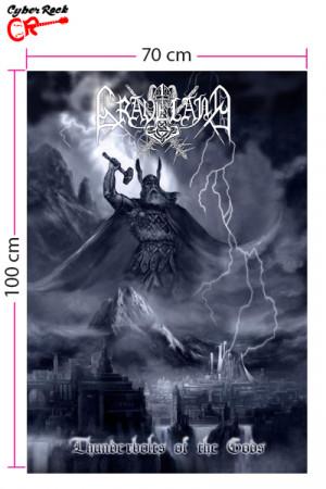 Bandeira Graveland - Thunderbolts Of The Gods