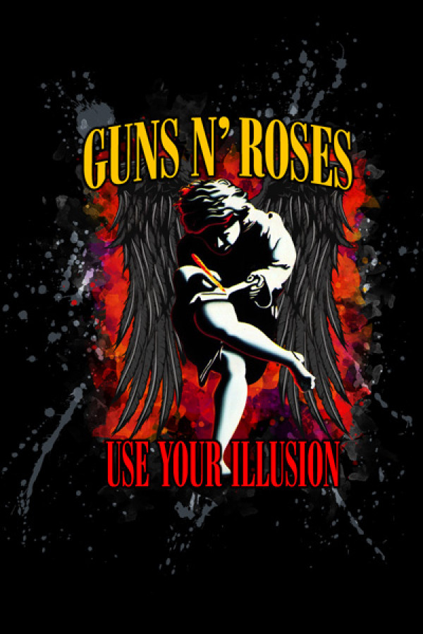 Camiseta-Guns N Roses-Use-Your-Illusion