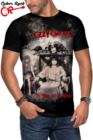 Camiseta Ozzy Osbourne No Rest for the Wicked