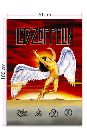 Bandeira Led Zeppelin Swan Song