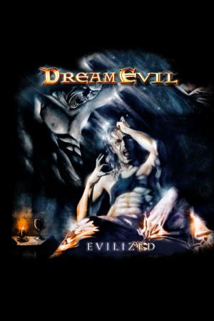 camiseta Dream Evil Evilized