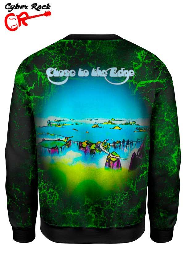 Camisetas de Rock e Heavy Metal  Blusa Moletom Yes Close to
