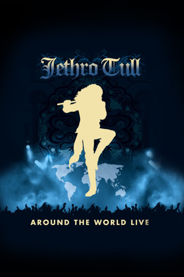 Camiseta Jethro Tull Around the World Live