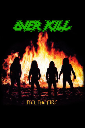 Camiseta Overkill - Feel the Fire